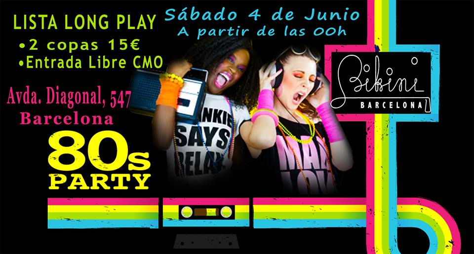 Flyer 80s Party