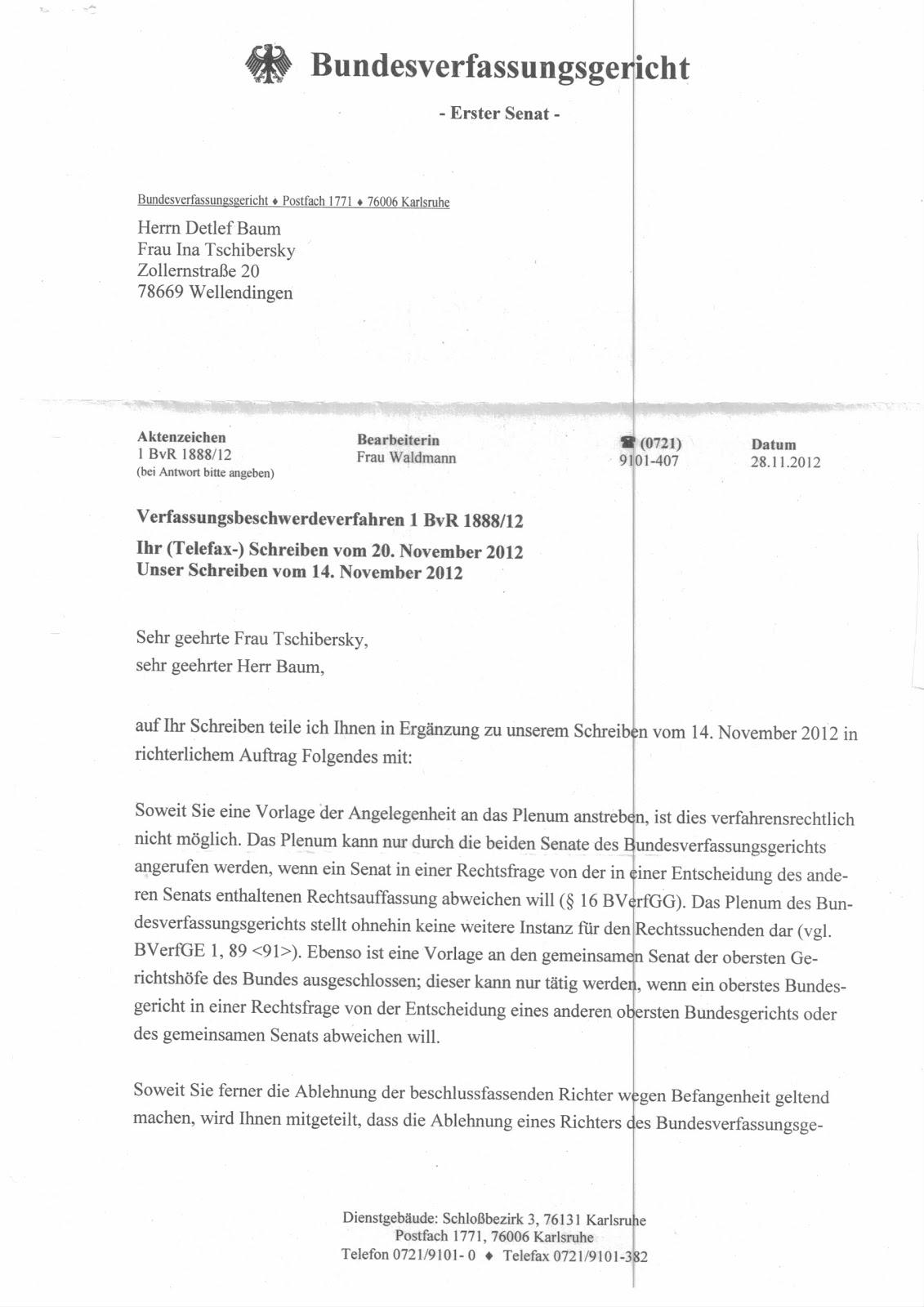 Bundesverfassungsgericht Macht Wegen Hering Wieder Blah Blah