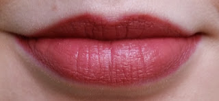 Avon Ultra Colour 3D Plumping Lipstick Twig Lip Swatch