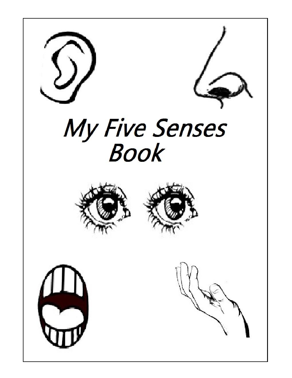 5 Senses Kindergarten Worksheets Free Worksheets Library ...