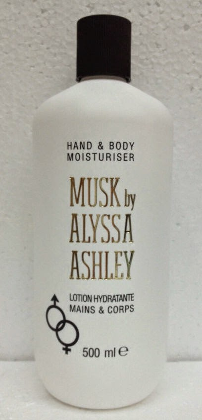 HAND & BODY MOITURISER MUSK By ALYSSA ASHLEY