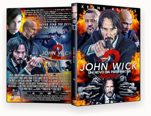 John Wick Um Novo Dia Para Matar 2017 DVD-R