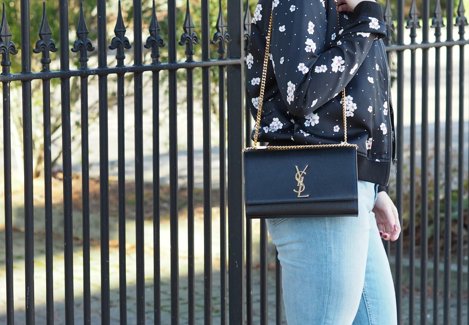 Saint Laurent Classic Medium Kate Monogram Handbag