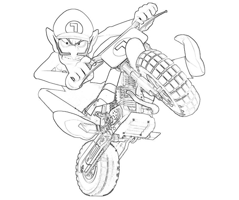 Waluigi Motor Cross Supertweet