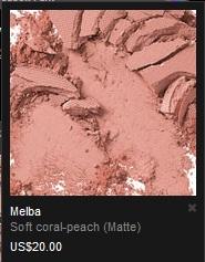 MAC Matte Powder Blush Melba Swatch and Review