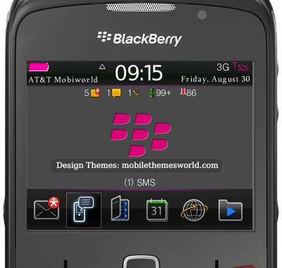 blackberry curve 9360 free themes downloads