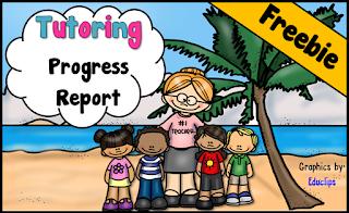 Tutoring Progress Report