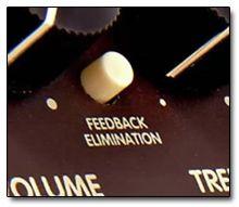 Feedback-Killer en Amplificadores de Guitarra Acústica