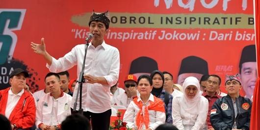 Tanggapan TKN Ada Menteri Ikut Kampanye Jokowi