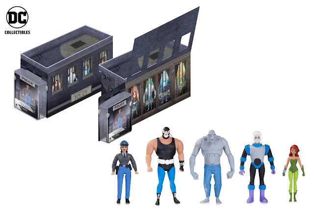 BATMAN: THE ANIMATED SERIES GCPD ROGUES GALLERY ACTION FIGURE 5-PACK