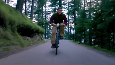 Salman Khan Riding Cycle Image In Tubelight