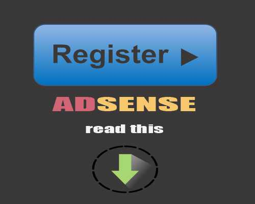 Daftar Google Adsense? Baca Dulu Artikel Ini