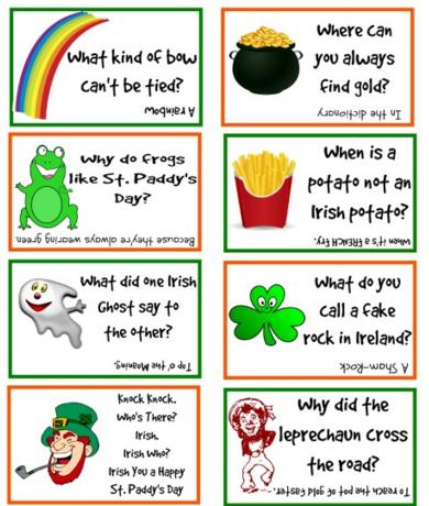 Funny St. Patricks Day 2016 Jokes for Kids