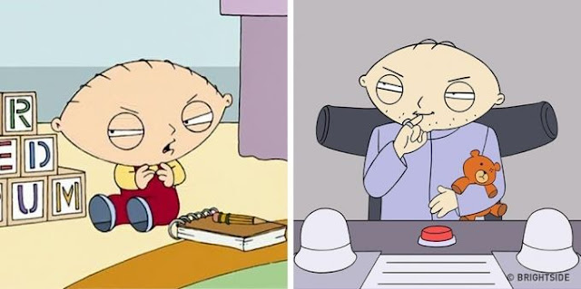 8. Stewie Griffin (Family Guy)