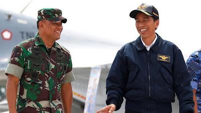 Temui Presiden Jokowi Usai Pensiun, Gatot Ucapkan Terima Kasih - Info Presiden Jokowi Dan Pemerintah