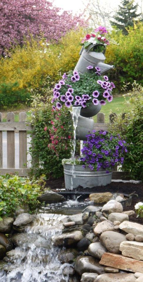 Dise o de fuentes para el jard n jard n y terrazas for Disenos de estanques para jardin