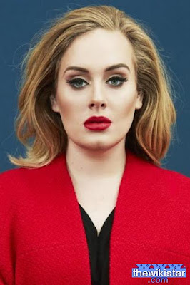 Adele Laurie Blue Adkins, singer and songwriter English.