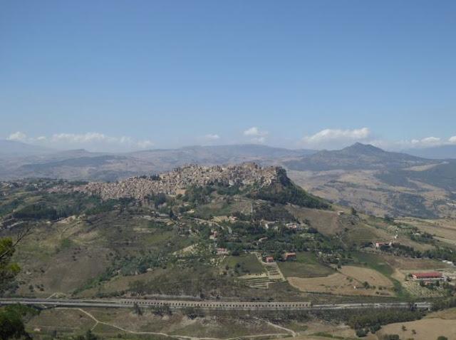 panorama su Calascibetta