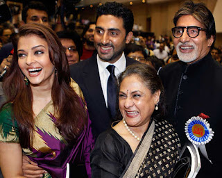 Aishwarya With Her Father In Law and Mother In Law Along With Husband
