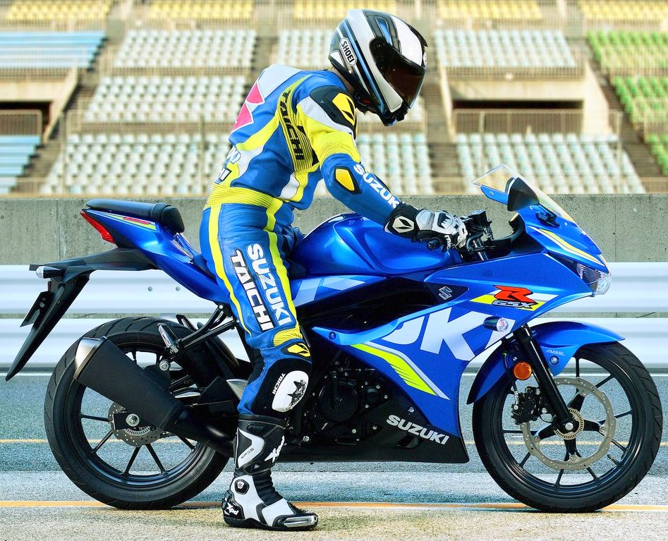 Tidak dijual di Indonesia, inilah tampang dari Suzuki GSX-R125 yang sudah menggunakan perangkat ABS dan Keyless Ignition System !
