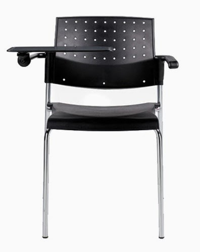 Sonic Tablet Guest Chair by Global