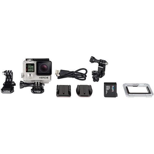 Câmera digital GoPro Hero 4 adventure com WiFi bluetooth e gravação 4K