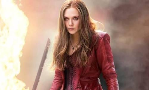 elizabeth olsen adalah pemeran scarlet witch