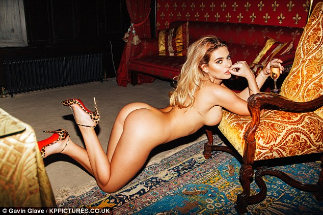Love Island's Megan Barton Hanson  poses nude in racy photoshoot