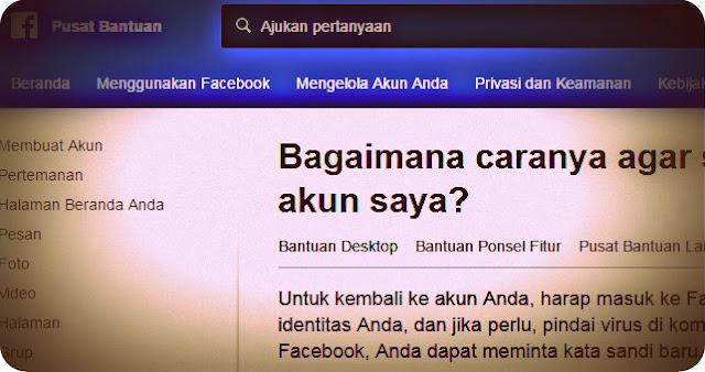 Bagaimana Caranya Untuk Kembali ke Akun Facebook