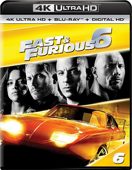 Fast & Furious 6 EXTENDED 4K (Rápidos y Furiosos 6 4K) (2013) 2160p 4K UltraHD HDR BluRay REMUX 44GB mkv Dual Audio DTS-HD 7.1 ch