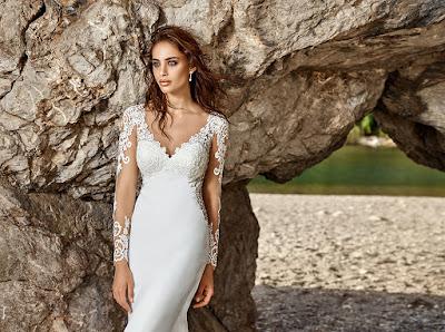vestidos de novia para bodas de plata