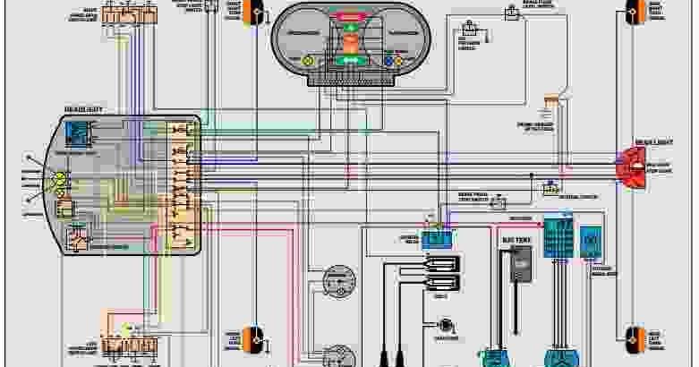 BMW  R606  R756  R906  R90S  Wiring Diagram  Wiring Diagram Service Manual PDF