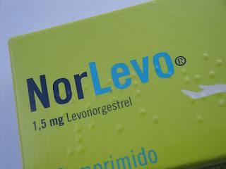 A pílula do dia seguinte com levonorgestrel 1.5 mg