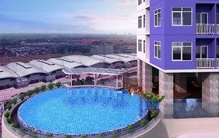 View Apartemen B Residence BSD City 3 Menit ke Mall AEON www.rumah-hook.com