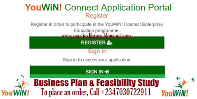 YouWiN! Connect Application Portal 2017 - Register & Apply for YouWin Here