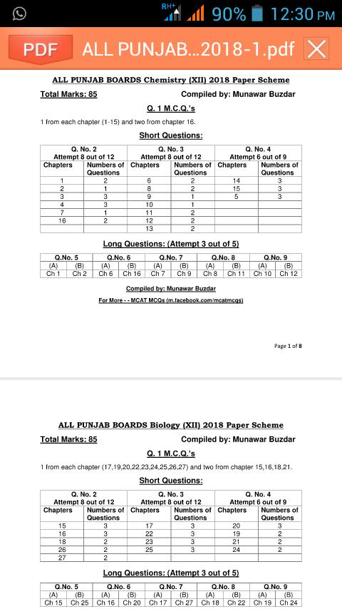 ONLINE ENTRY TEST ACADEMY(OETA): Punjab Boards Pairing