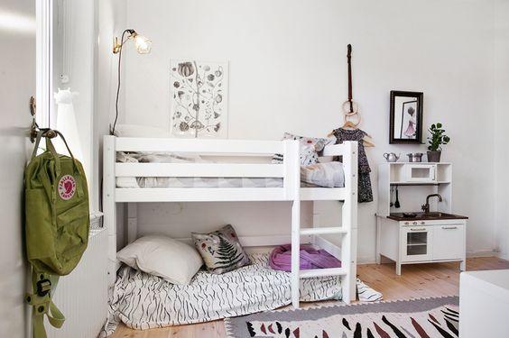 Habitaciones Compartidas Inspiración Montessori Parte 1 Literas