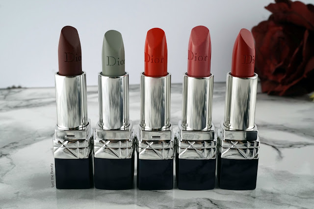 dior rouge lipstick review swatches