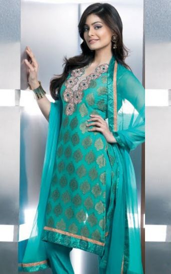 New Fashion Lay Latest Fashion Trend: Hiba Designer Salwar ... |Latest Bollywood Salwar Kameez Designs 2013