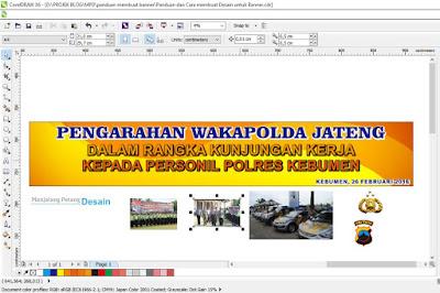 Gambar 7. Masukan Objek lain untuk mempercantik desain