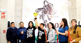 Estudiantes de Colegio de Alto Rendimiento de Lima ganaron Olimpiada Nacional de Robótica