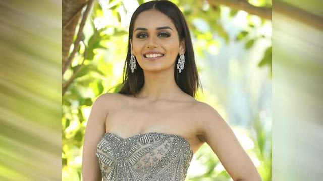 Miss World 2017 Manushi Chillar looking stunning in this pic.