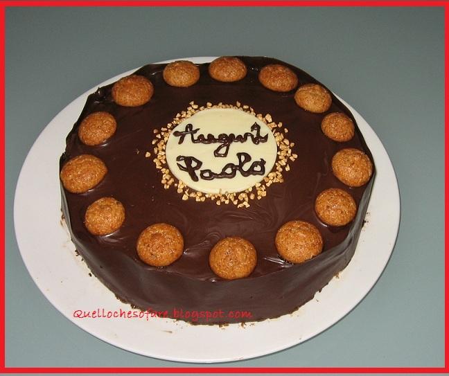 Amato QUELLO CHE SO FARE E NON: Torta di compleanno con decorazione  YT94