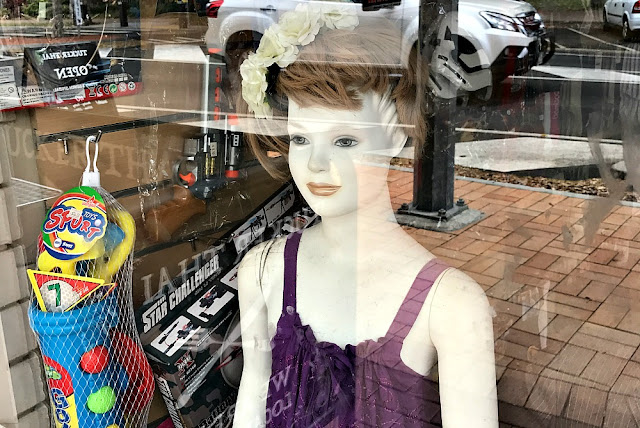 bad window display Hervey Bay East Coast Australia