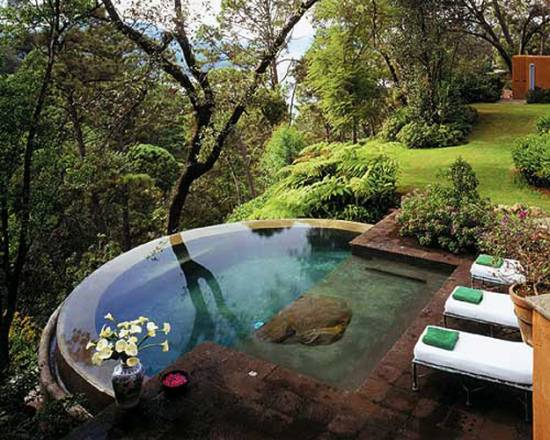 Unique And Exotic Small Pool Design Ideas For Small
