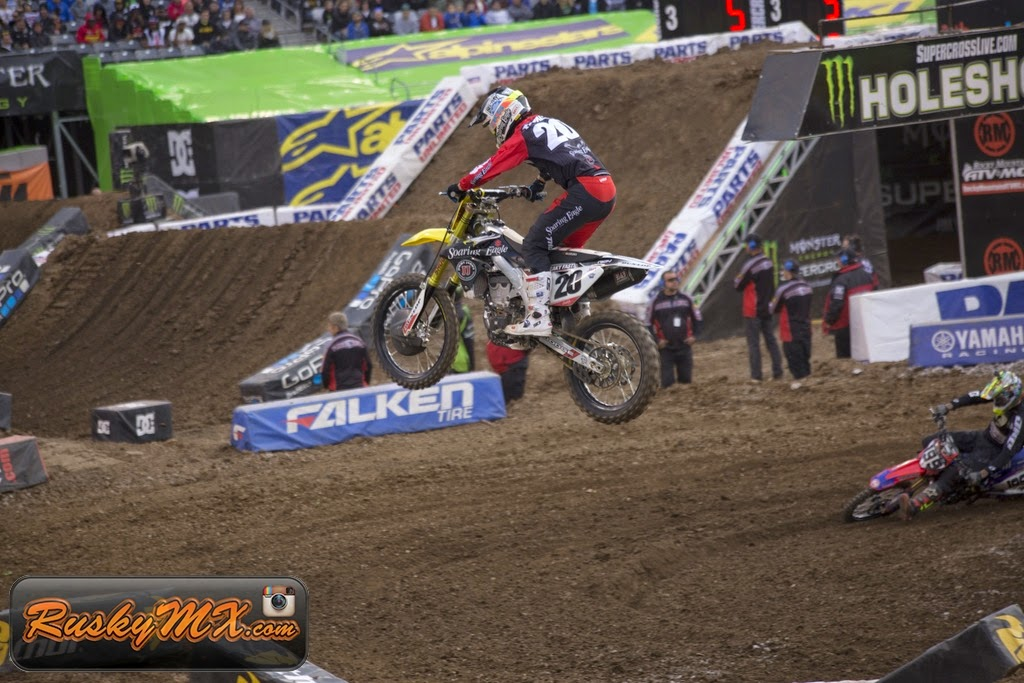 Broc Tickle Metlife SX 2015