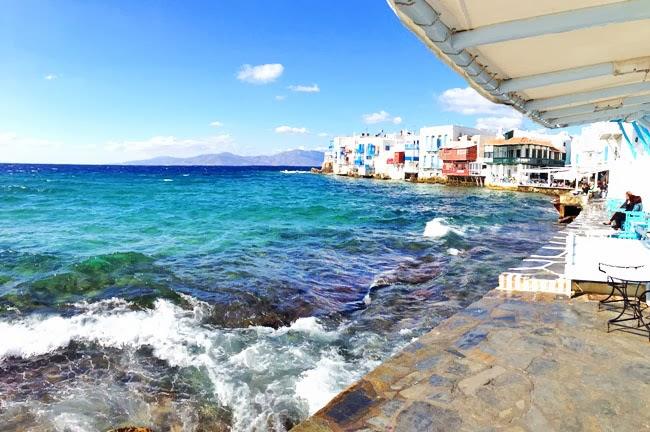Little Venice Mykonos island