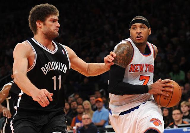 Gros derby entre les Knicks et les Nets