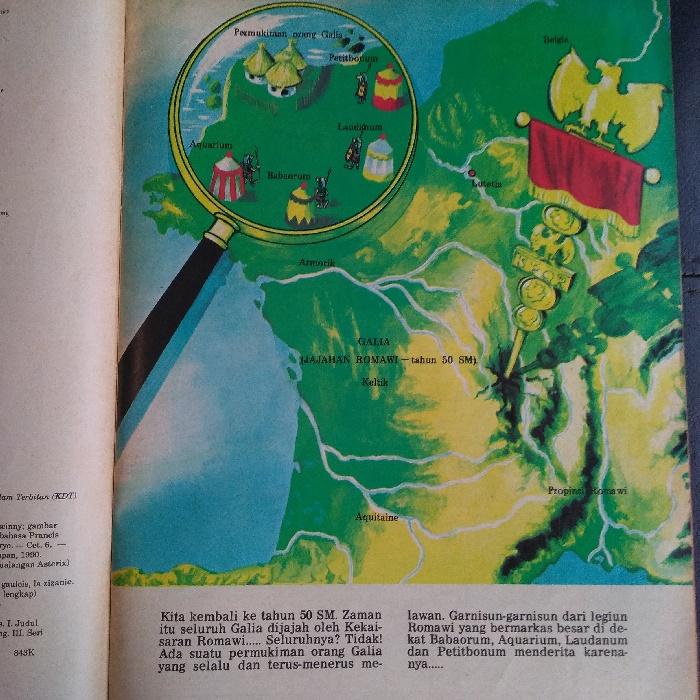 Komik Petualangan Asterix Sang Penghasut