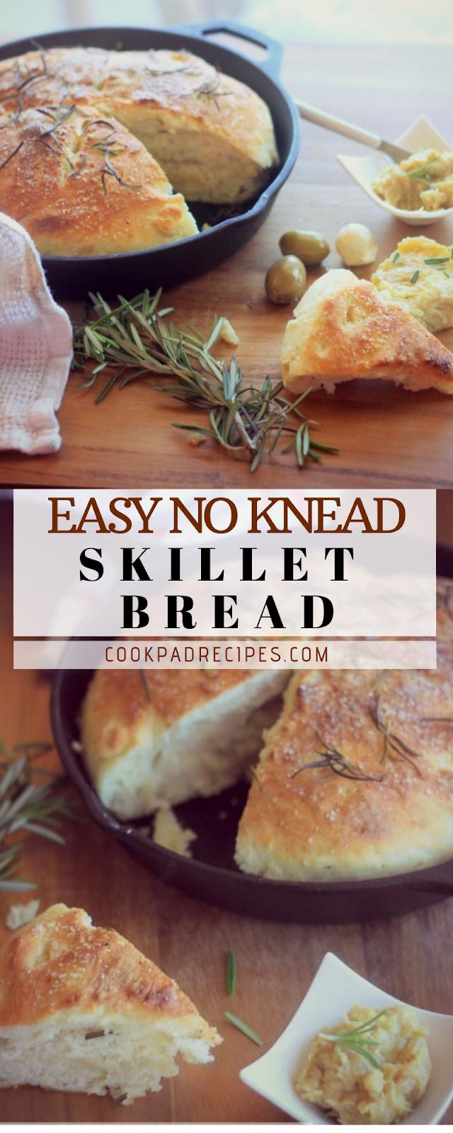 Eаѕу Nо-Knеаd Skіllеt Bread